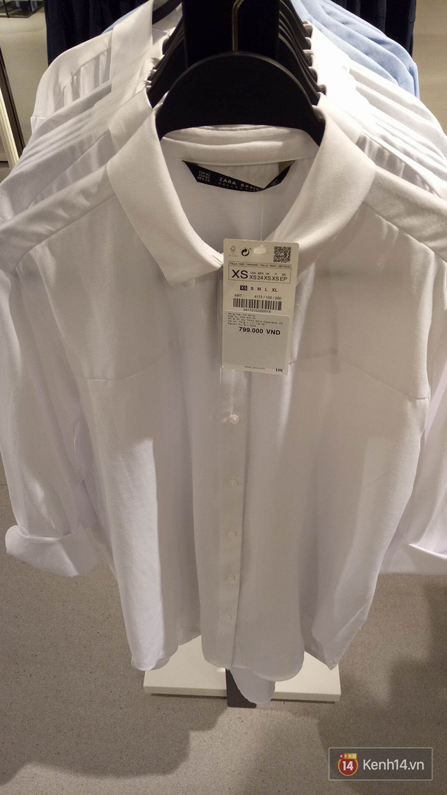 Đồ Zara Việt Nam giá không trên trời như lo ngại, có món rẻ hơn web Pháp, Thái Lan - Ảnh 3.