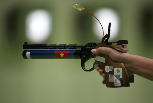 Khẩu súng của Hoàng Xuân Vinh sẽ được đưa vào Bảo tàng thể thao Việt Nam?