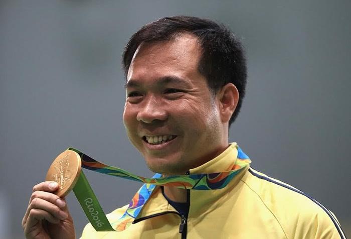 Nụ cười chiến thắng của xạ thủ số 1 Việt Nam