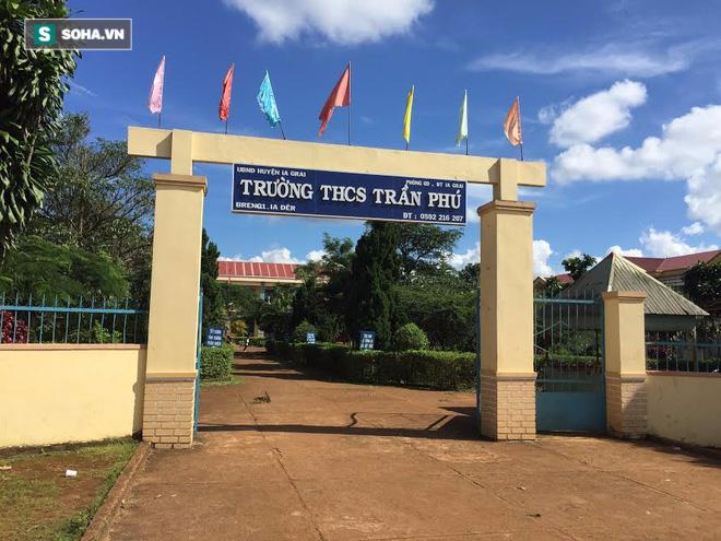 Ngôi trường mà em Ksor Sôn theo học khi còn sống