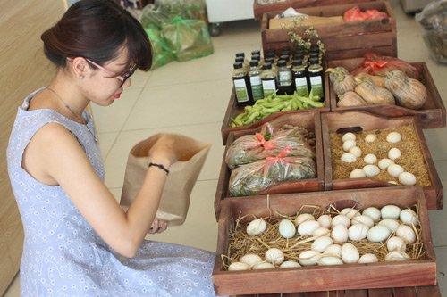Thực phẩm hữu cơ của Thùy Linh được nhiều khách hàng tin tưởng.