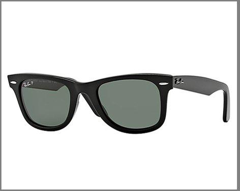 Ray-Ban Wayfarer Sunglasses ($150).