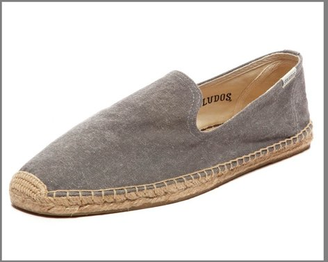 Soludos Washed Canvas Smoking Slippers ($33 -$55)