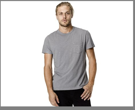 Buck Mason Slub Pocket Tee ($32)