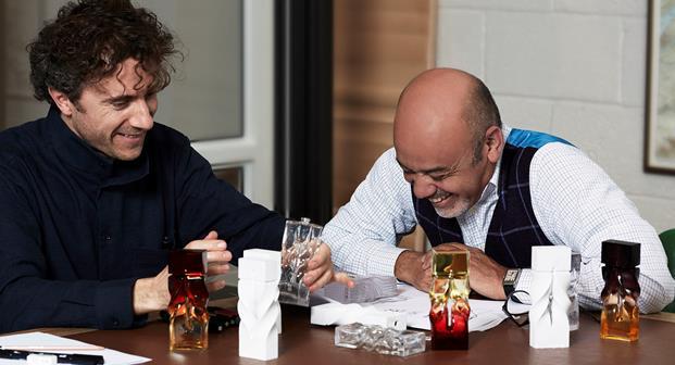 Nhà thiết kế Christian Louboutin và Thomas Heatherwick