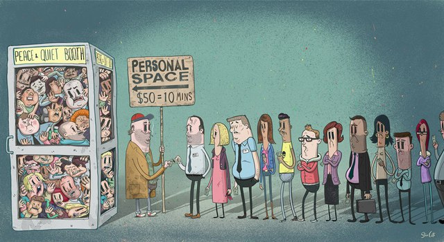 Trong một xã hội đông đúc, hiện đại, có được một không gian riêng tư là điều vô cùng khó khăn, đắt đỏ.