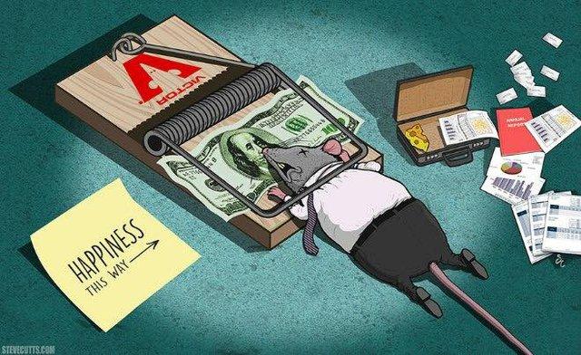 Trong thế giới hiện đại, tiền là hạnh phúc, những cái bẫy tư duy tiền bạc đã khiến nhiều người mất đi hạnh phúc đáng có trong cuộc sống.