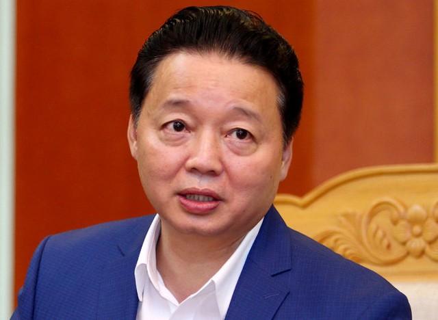 Ông Trần Hồng Hà, bộ trưởng Bộ Tài nguyên - môi trường - Ảnh: Nguyễn Khánh