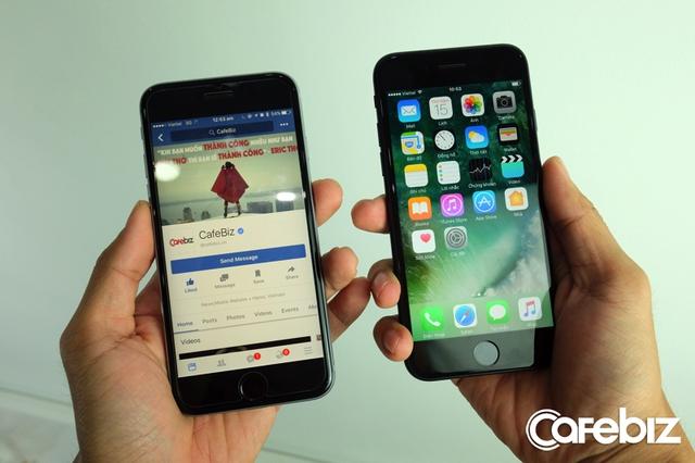 Nhìn lướt qua 2 chiếc iPhone này, bạn có nhận ra đâu là iPhone 6s, đâu là iPhone 7 mới?