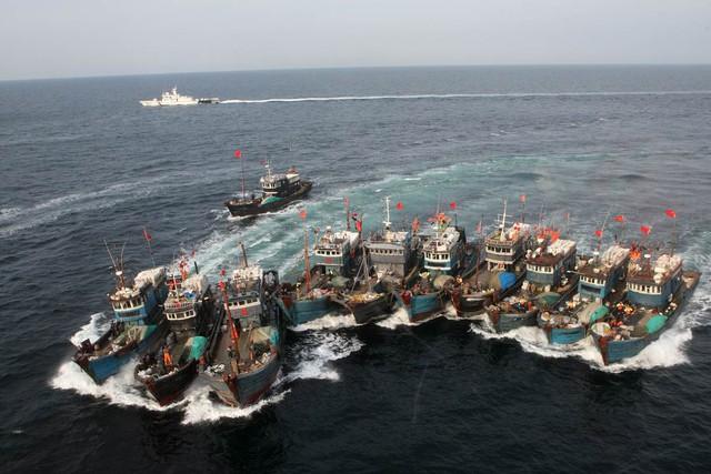 Đội tàu cá bán quân sự của Trung Quốc
