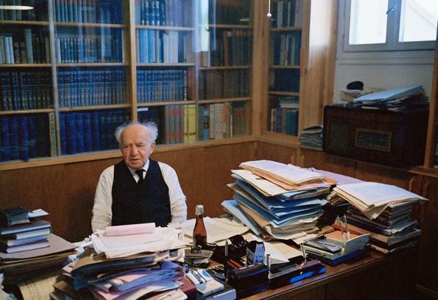 Ông Ben Gurion năm 1972