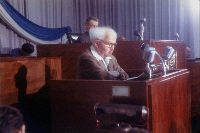 Ông Ben Gurion năm 1952