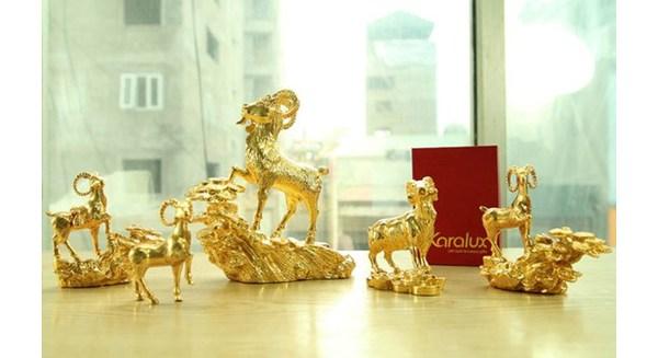 Xa xỉ: Nửa tỷ một bộ Dê vàng phục vụ đại gia chơi Tết