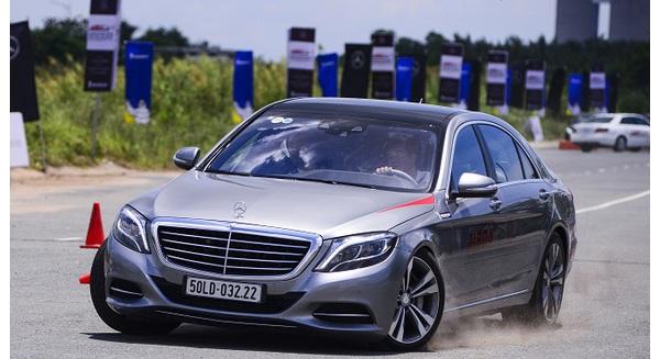 Mercedes Benz ứng dụng công nghệ an toàn trên đường đua