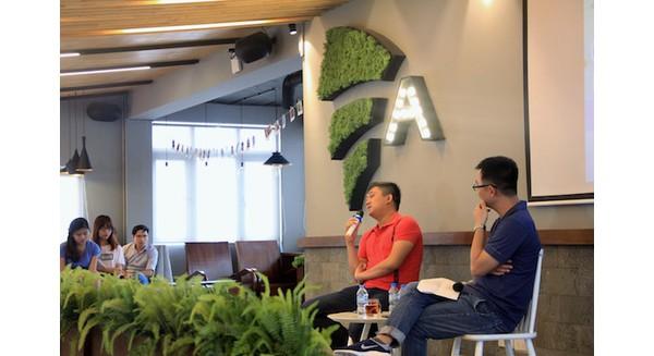 CEO Nhạc Của Tui phát biểu tại hội nghị