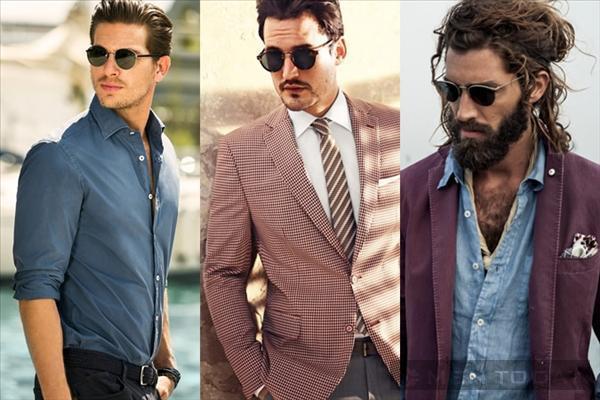 Những cặp kính gọng tròn tô điểm cho phong cách 'quý ông'
