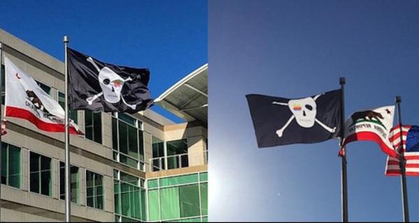 Ngày hôm nay, trụ sở Apple giương cao lá cờ cướp biển và đây là ý nghĩa thực sự của nó
