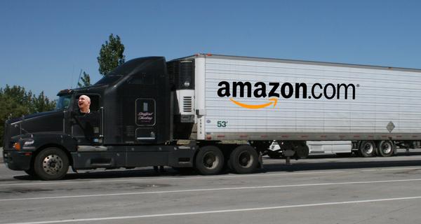 Bí mật xây ứng dụng Uber cho xe tải, Amazon muốn nuốt trọn thị trường 800 tỷ USD