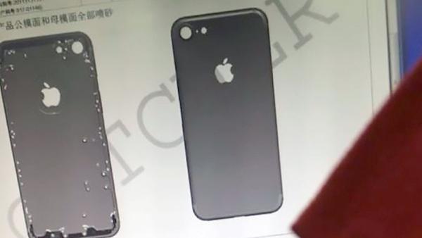 Bằng chứng iPhone 7 đã bỏ đi dải ăng-ten nhựa vô duyên, không có camera kép