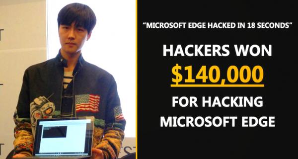Hacker nhận 3,1 tỷ đồng nhờ hack thành công trình duyệt Microsoft trong 18 giây