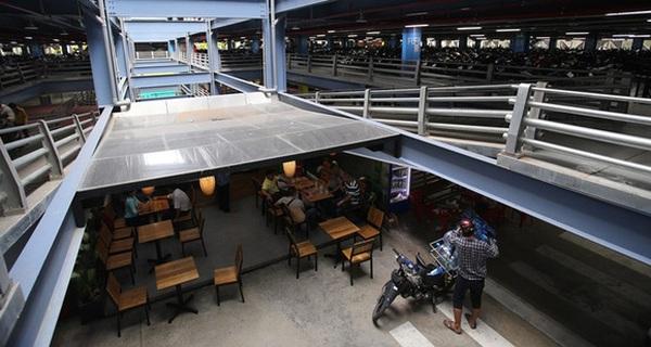 Cận cảnh nhà xe 550 tỷ với 7 tầng và khu thương mại sầm uất ở sân bay Tân Sơn Nhất