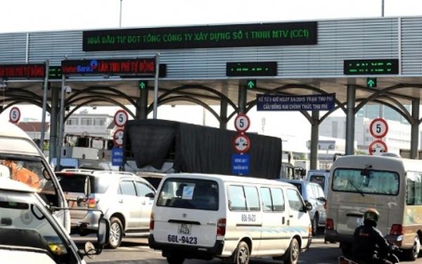 Trạm thu phí phải mở barie khi ùn tắc trong dịp Tết