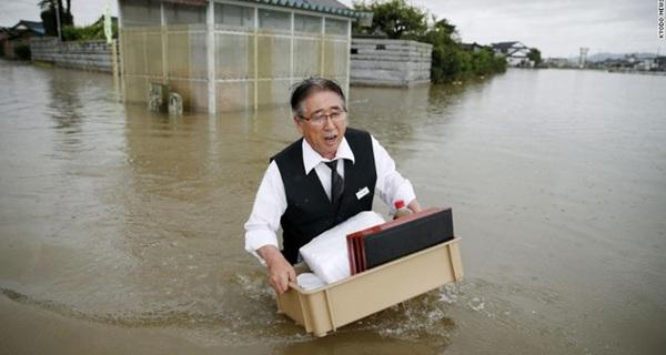 Chuyện nước ngập và văn hóa của CEO Nhật