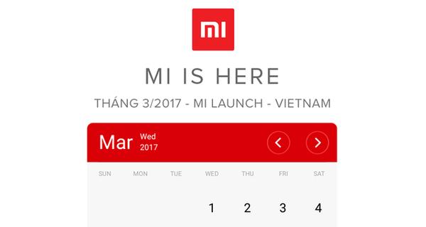 Ngày mai 15/03, Xiaomi sẽ chính thức gia nhập thị trường Việt Nam
