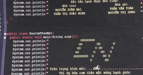 Khi coder Việt làm đám cưới, đây là cách họ thiết kế thiệp mời, không giống những gì bạn từng biết đâu
