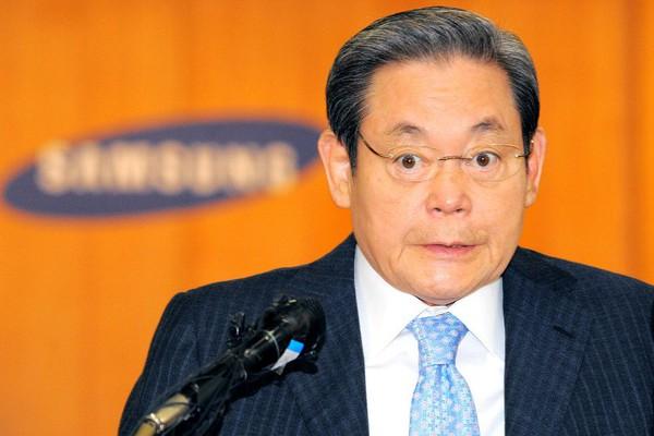 Chủ tịch Samsung sở hữu 18,5 tỷ USD, lọt top giàu nhất thế giới