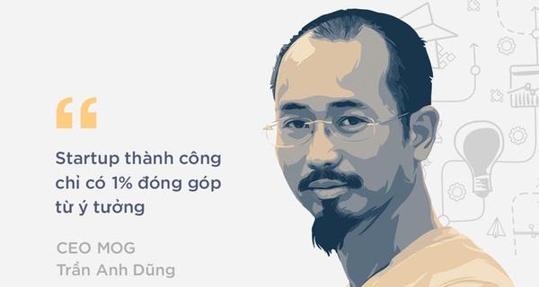 """CEO MOG: """"Phong trào khởi nghiệp tại Việt Nam đang trầm xuống, nhưng đó là dấu hiệu tốt"""""""