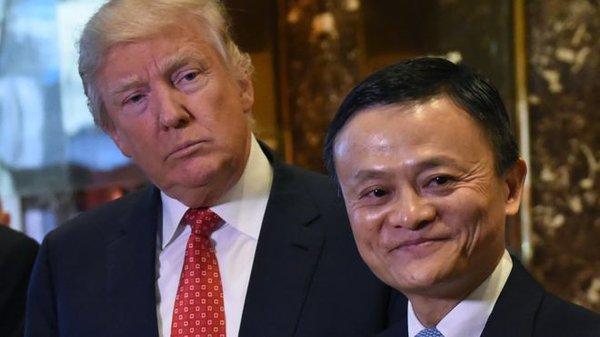 Điểm chung kỳ lạ giữa Donald Trump và Jack Ma