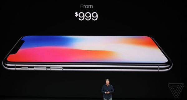 iPhone X giá 1.000 USD chính thức ra mắt: Thiết kế toàn màn hình siêu đẹp, camera nhận diện khuôn mặt, sạc không dây