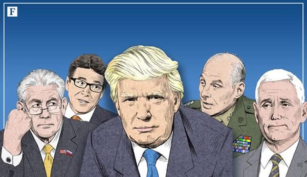 2 tỷ phú và 10 triệu phú USD trong nội các của Donald Trump