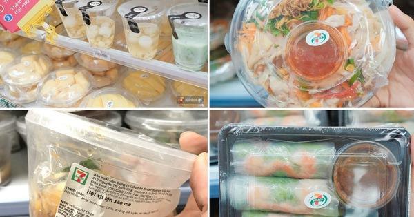 Điểm danh những món ăn đang hot nhất 7-Eleven Việt Nam
