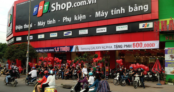 Doanh thu FPT Shop tăng trưởng 33% trong quý 1