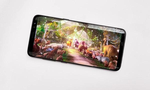 Màn hình vô cực của Galaxy S8 sẽ cho bạn xem được những thước phim chưa từng có