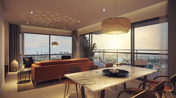 Thiết kế nội thất căn hộ trung tâm Thảo Điền: Định nghĩa lại về chuẩn mực cao cấp