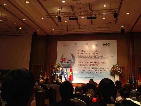 """Tổng thống Israel nói về mối quan hệ hợp tác Việt Nam - Israel: """"Tôi muốn chúng ta nói ít hơn và chung tay với nhau để làm được nhiều hơn"""""""