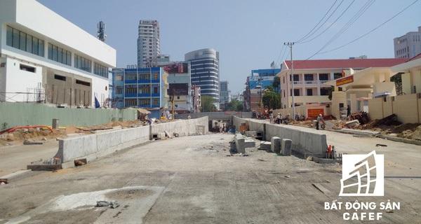 Cận cảnh dự án hầm chui phía tây cầu Sông Hàn sắp đưa vào hoạt động ngày 30/4