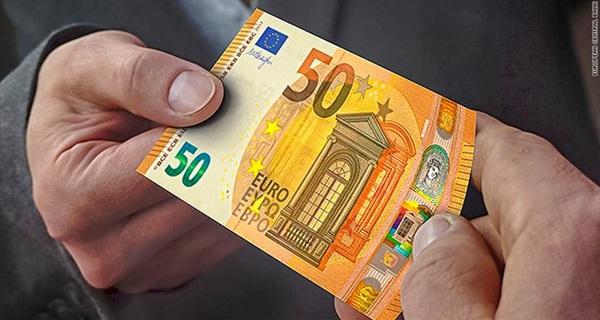 Ngân hàng Trung ương châu Âu lưu hành tờ tiền 50 euro mới