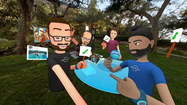 Facebook ra mắt phiên bản đầu tiên của mạng xã hội thực tế ảo Spaces