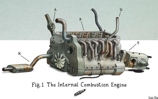 Xe điện và cái chết của động cơ đốt trong