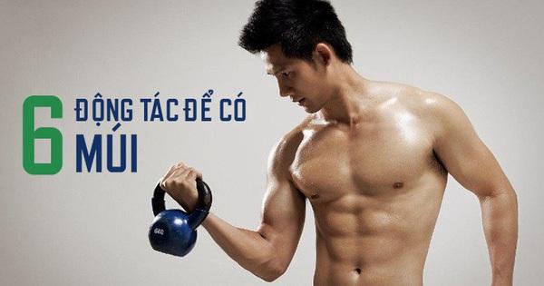 """Chỉ cần 6 động tác đơn giản, bạn sẽ sở hữu thân hình """"6 múi"""" mà không cần đến phòng Gym"""