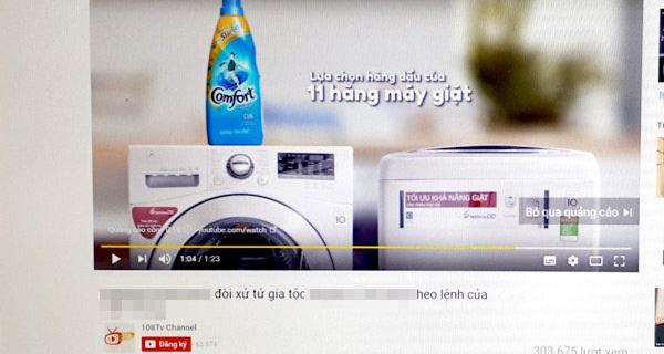 Nhiều sai phạm trong quảng cáo của YouTube tại Việt Nam