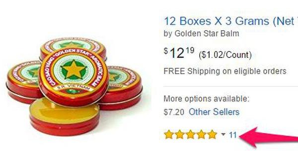 Tưởng thế nào, rao bán nón lá, cao sao vàng trên Amazon chỉ là cho vui mà thôi