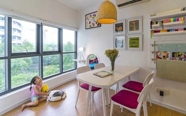 Ngắm căn hộ 140m² hình bán nguyệt, chỉ cách trung tâm Sài Gòn 5 phút đi xe của vợ chồng 8x