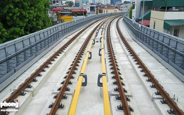 Hình ảnh dự án đường sắt Cát Linh - Hà Đông trước ngày chạy thử