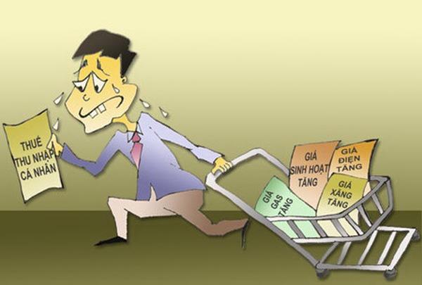 Thuế thu nhập cá nhân rối tinh vì lắm bậc
