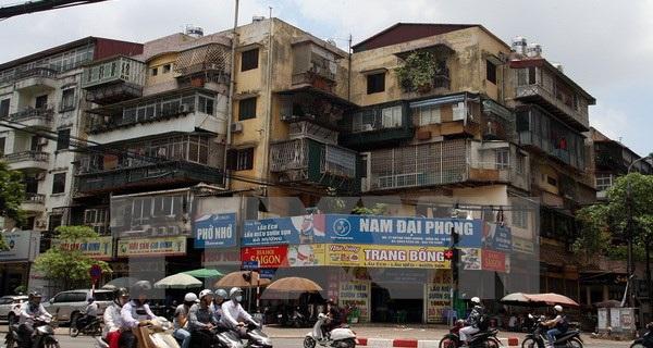 """Hà Nội quyết tâm """"vào cuộc"""" cải tạo, xây dựng lại chung cư cũ"""